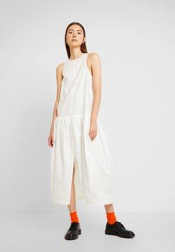 Weekday - TATLIN POPLINDRESS - Vestido largo - off white