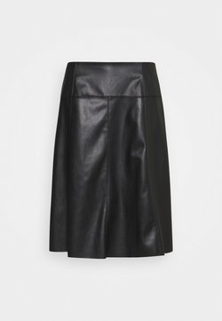 MY TRUE ME TOM TAILOR - SKIRT LOOK - A-Linien-Rock - deep black