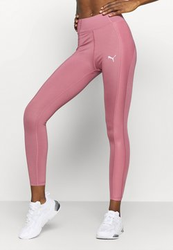 Puma - PAMELA REIF X PUMA COLLECTION HIGH WAIST FABRIC BLOCK  - Tights - mesa rose