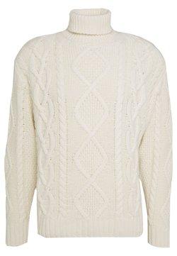 Nudie Jeans - DIDRIK - Stickad tröja - dusty white