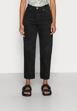 Monki - Jeans relaxed fit - black