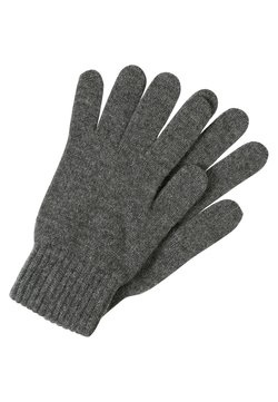 Johnstons of Elgin - CASHMERE GLOVES - Fingerhandschuh - midgrey
