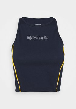 Reebok - PIPING PACK TANK - Toppe - vector navy