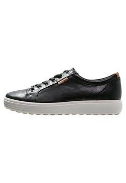 ECCO - SOFT 7 - Sneakers laag - black