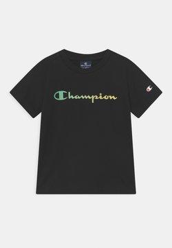 Champion - AMERICAN PASTELS CREWNECK UNISEX - T-Shirt print - black