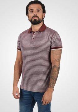 Solid - Poloshirt - wine red melange