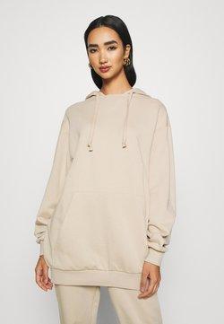 KENDALL + KYLIE - OVERSIZE HOODIE - Bluza z kapturem - beige