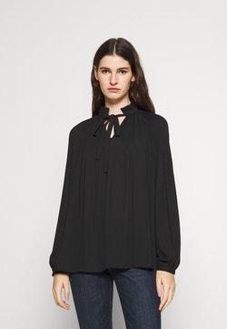Lauren Ralph Lauren - DRAPEY - Bluse - black