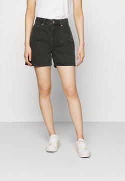 ARKET - SHORTS - Szorty jeansowe - black