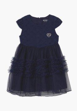 Guess - LACE DRESS BABY - Cocktailkleid/festliches Kleid - deck blue