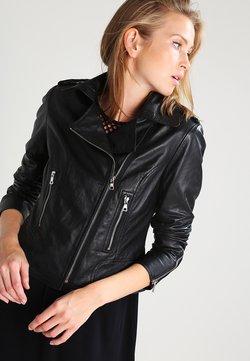 Ibana - BEAR BLAZE - Leren jas - black