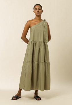 IVY & OAK - Vestido largo - sage green