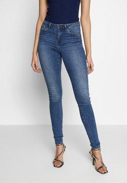 Vero Moda Tall - VMTANYA PIPING - Jeans Skinny Fit - medium blue denim