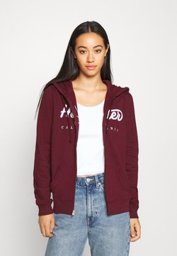Hollister Co. - Collegetakki - burgundy