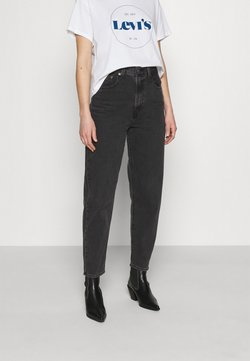 Levi's® - HIGH LOOSE TAPER - Jeans Relaxed Fit - black