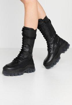Bronx - JAXSTAR - Platform boots - black