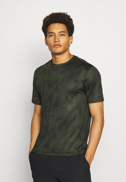Endurance - KENTS TEE - Camiseta estampada - military green