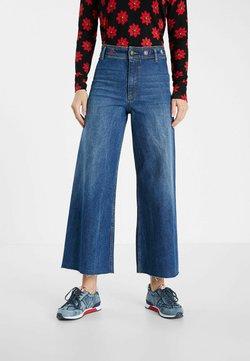 Desigual - Jeans a zampa - blue