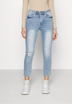 Forever New - ISABEL MID RISE CROP - Slim fit jeans - light mid wash
