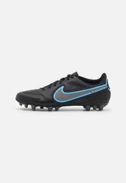 Nike Performance - TIEMPO LEGEND 9 ACADEMY AG - Korki Lanki - black/iron grey