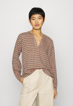 Kaffe - KASARY TILLY BLOUSE - Langarmshirt - grape leafdiamond