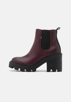 Tommy Jeans - ESSENTIAL MID - High Heel Stiefelette - warm mahogany