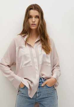 Mango - BIMAO - Button-down blouse - rose pastel