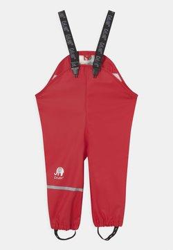 CeLaVi - RAINWEAR PANTS SOLID UNISEX - Pantalon de pluie - red