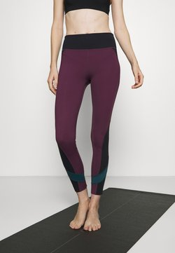 Etam - EDEAN LEGGING - Tights - prune