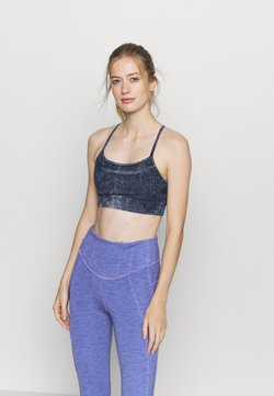 GAP - LOW IMPACT CROSSOVER BACK BRA - Sujetador deportivo - true indigo