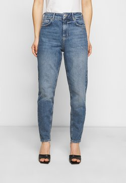 Pieces Petite - PCZOE STRAIGHT - Straight leg -farkut - medium blue denim