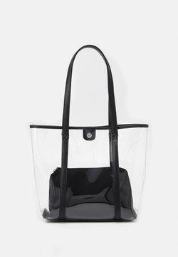 Even&Odd - SET - Bolso shopping - transparent/black