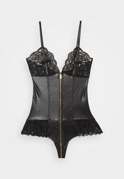 Ann Summers - TASHA BOXED PEEP - Body - black