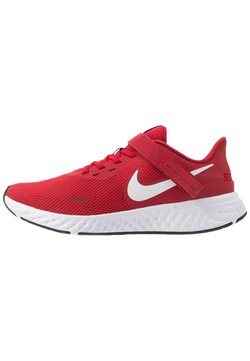 Nike Performance - REVOLUTION 5 FLYEASE - Zapatillas de running neutras - gym red/white/black