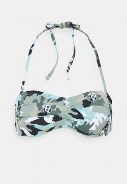 Esprit - HERA BEACH BAND - Top de bikini - khaki