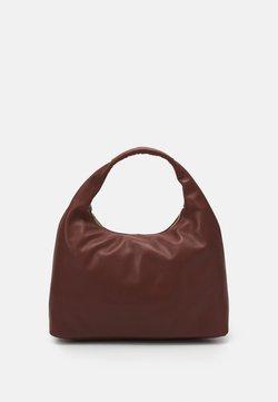 Marc Cain - SATCHEL BAG - Handbag - conker