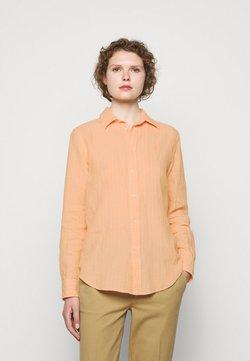 Polo Ralph Lauren - STRIPE LONG SLEEVE - Hemdbluse - peach/white