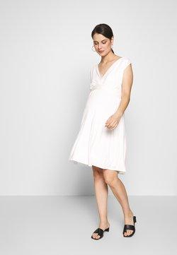 Envie de Fraise - ROMIA TANK MATERNITY DRESS - Jerseyklänning - off white