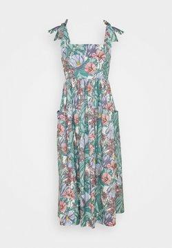 Tory Burch - TIE SHOULDER BEACH DRESS - Maxikleid - multi-coloured