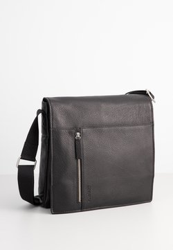Strellson - KENNINGTON SHOULDERBAG MVF - Umhängetasche - black