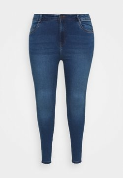 Noisy May Curve - NMAGNES - Jeans Skinny - medium blue denim