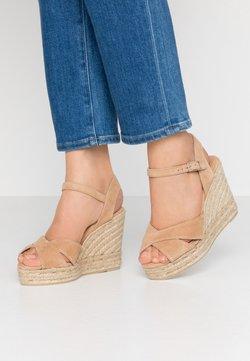 Castañer - BLAUDELL  - High heeled sandals - tostado