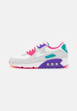 Nike Sportswear - AIR MAX 90 - Matalavartiset tennarit - photon dust/summit white/hyper grape/hyper pink/turbo green/hyper orange