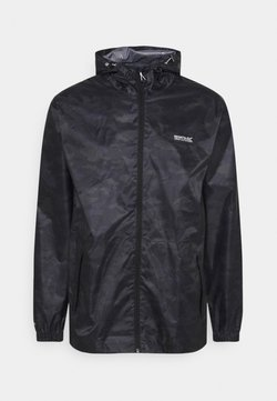 Regatta - PRINTD PACK IT - Outdoorjacke - black camo