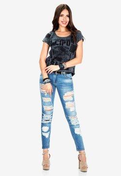 Cipo & Baxx - SLIM FIT - Jeans Slim Fit - blue