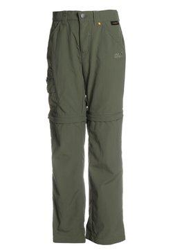 Jack Wolfskin - SAFARI ZIP OFF PANTS 2-IN-1 - Outdoor-Hose - woodland green