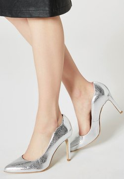 myMo at night - High Heel Pumps - silver