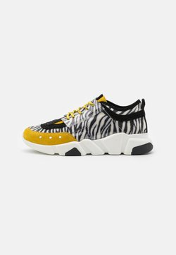 Lazamani - Sneakers laag - yellow