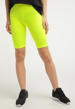 myMo ATHLSR - Shortsit - neon gelb