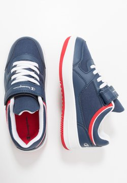 Champion - LOW CUT SHOE NEW REBOUND UNISEX - Zapatillas de baloncesto - navy